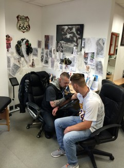 About us sin on skin for Association of professional tattoo artists